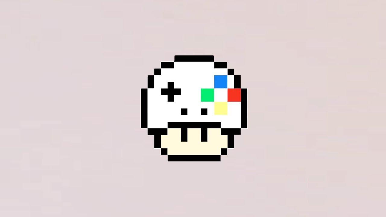 Comment Dessiner Un Champignon Gameur En Pixel Art pour Dessiner Un Champignon