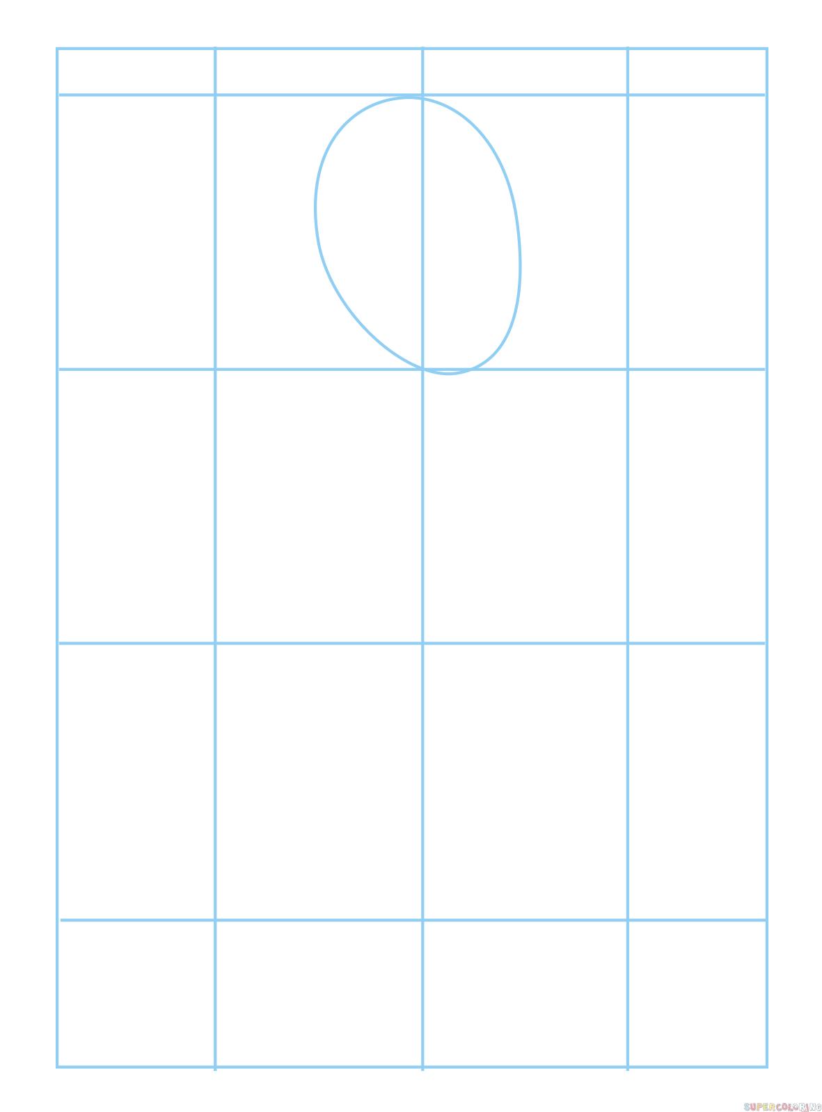 Comment Dessiner Un Génie | Tuto Dessin Etape Par Etape intérieur Dessin Symétrique A Imprimer