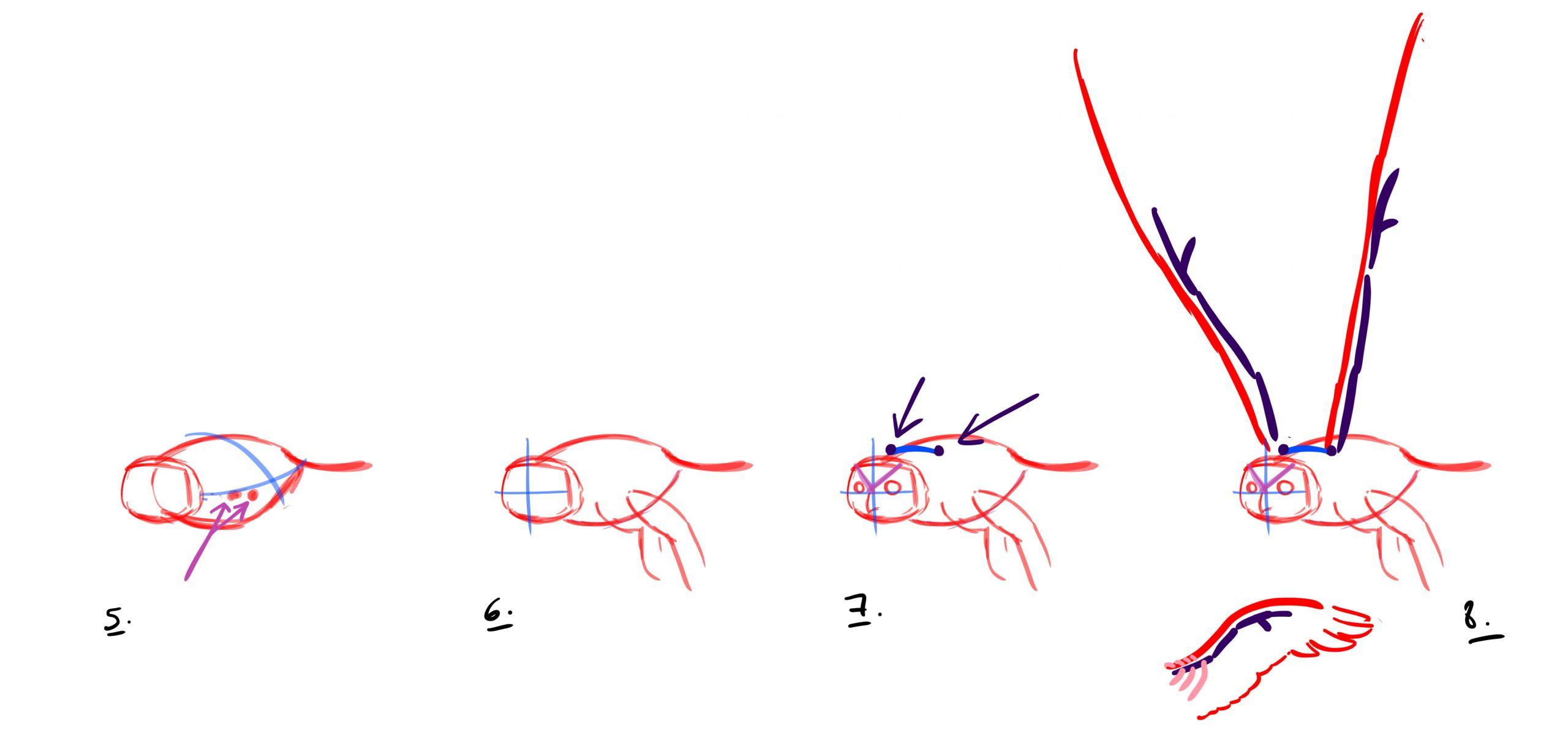 Comment Dessiner Un Hibou - Dessindigo à Dessiner Un Hibou
