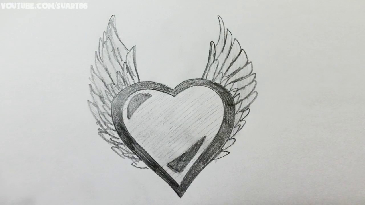 Comment Dessiner Un Jolie Coeur (Spéciale Saint-Valentin) - Tuto Étape Par  Étape pour Dessin Pour La Saint Valentin