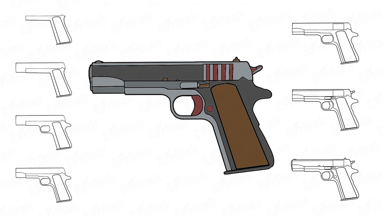 Comment Dessiner Un Pistolet concernant Comment Dessiner Un Fusil