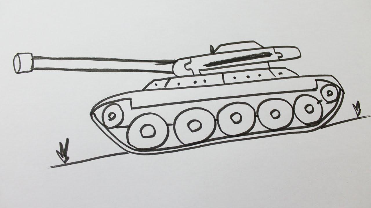 Comment Dessiner Un Tank intérieur Comment Dessiner Un Fusil