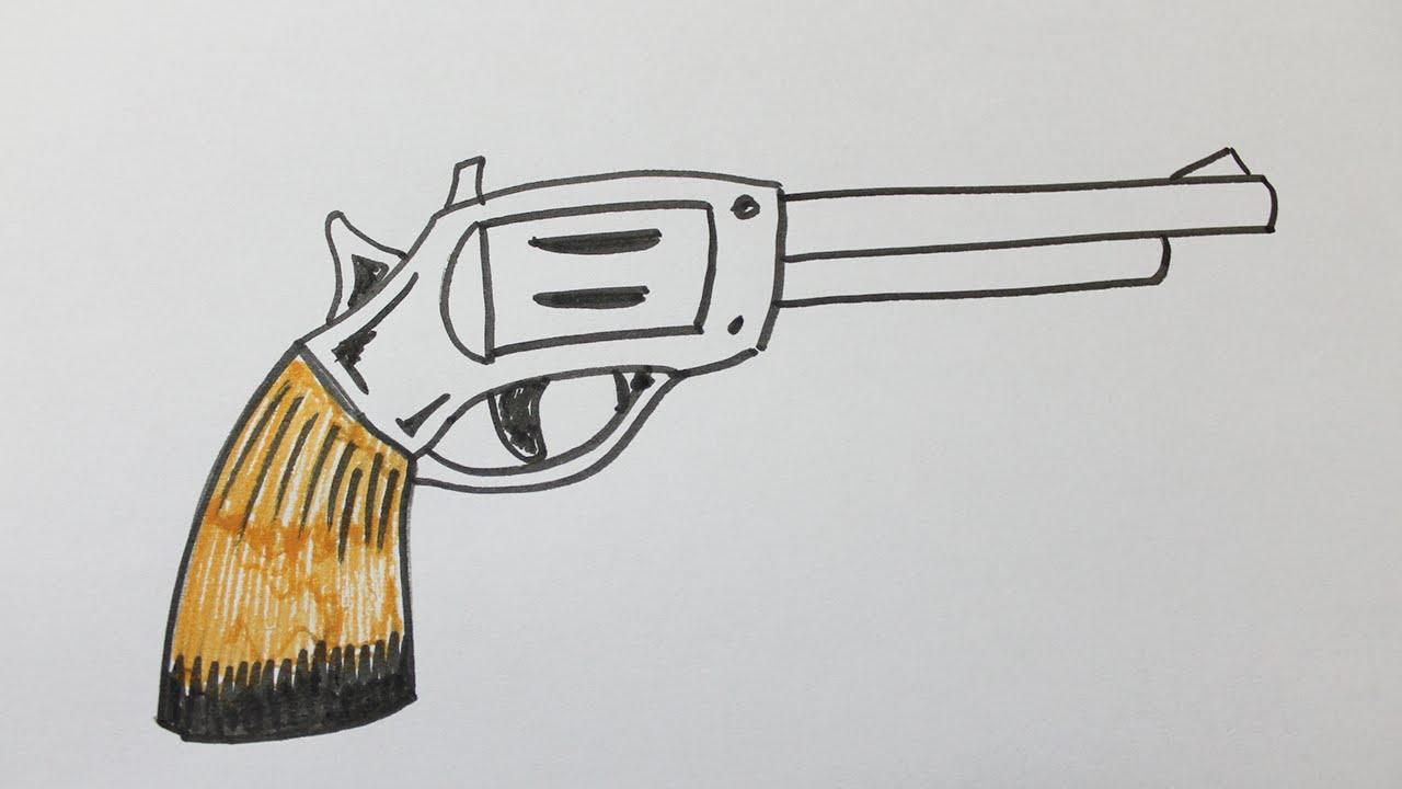 Comment Dessiner Une Arme serapportantà Comment Dessiner Un Fusil