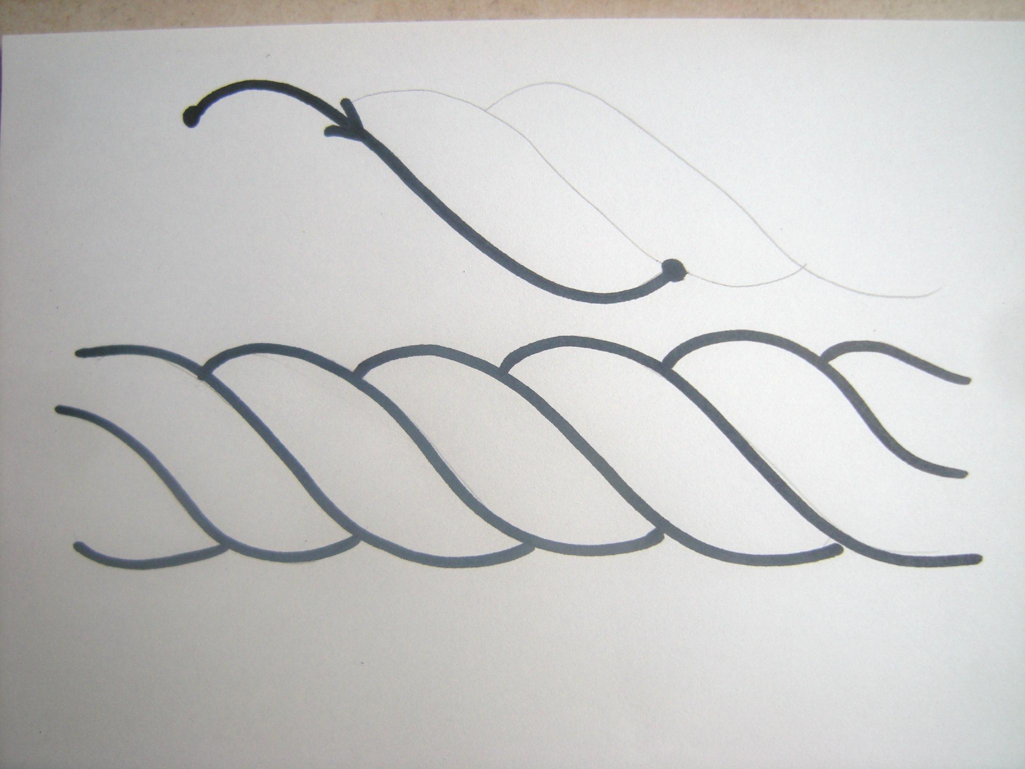 Comment Dessiner Une Corde En 3D - Domi Dessins Et Peintures encequiconcerne Dessin D Halloween Facile A Dessiner