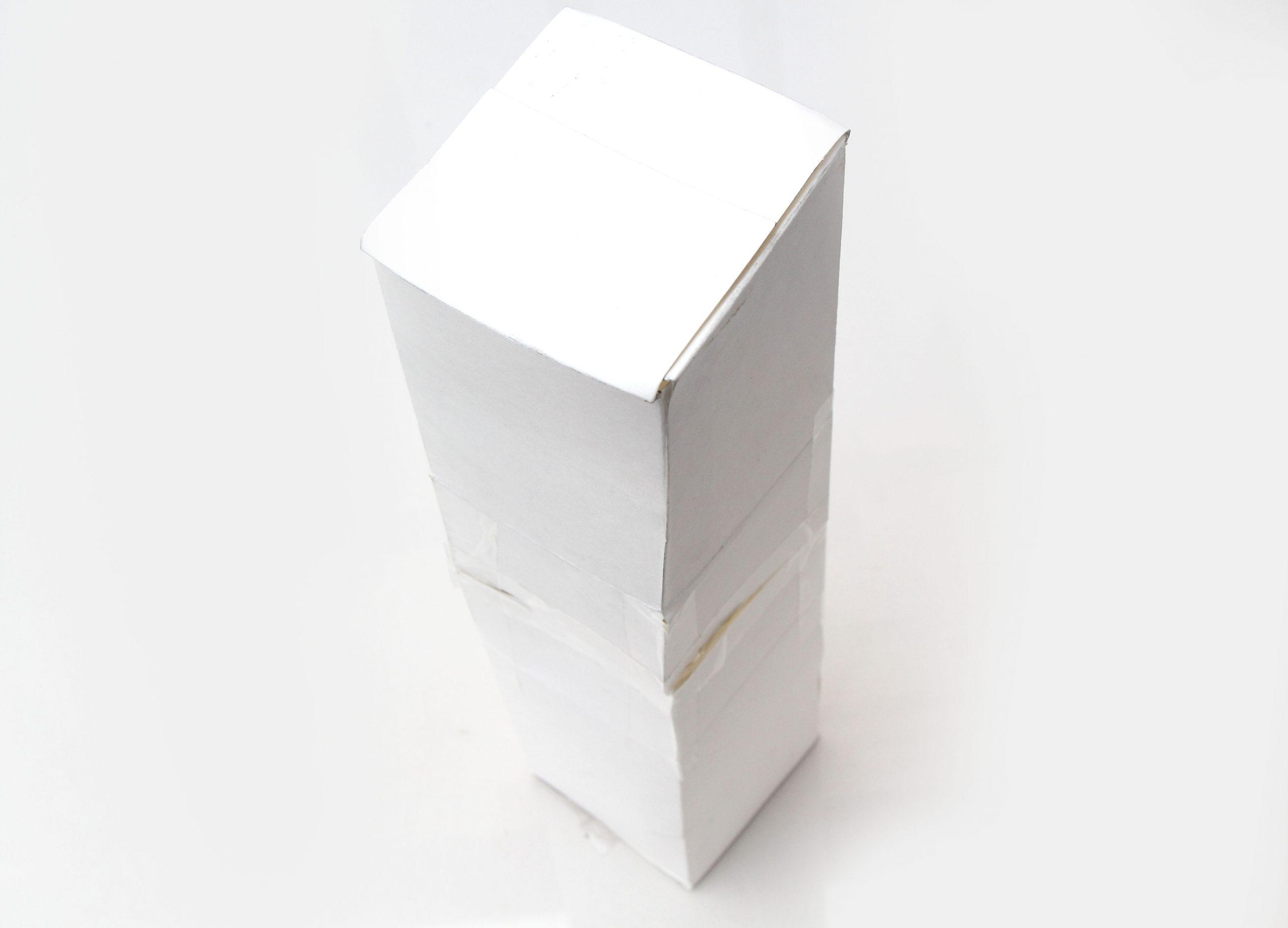 Comment Fabriquer Une Boite En Carton (Avec Images) à Patron Pour Boite En Carton