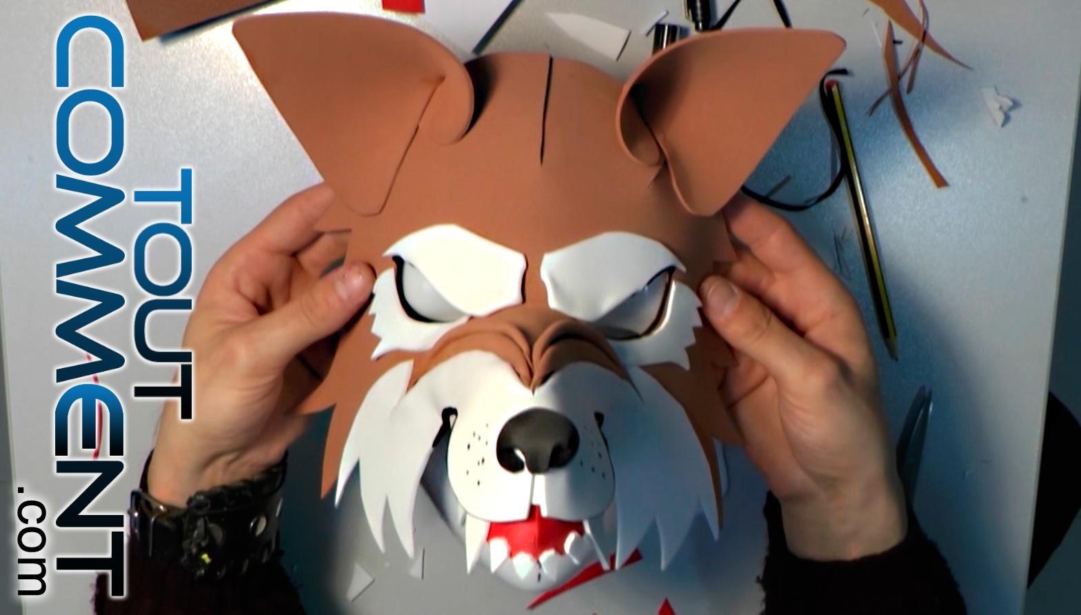 Comment Faire Un Masque De Loup-Garou. Que Ce Soit Pour Un avec Masque De Loup À Imprimer