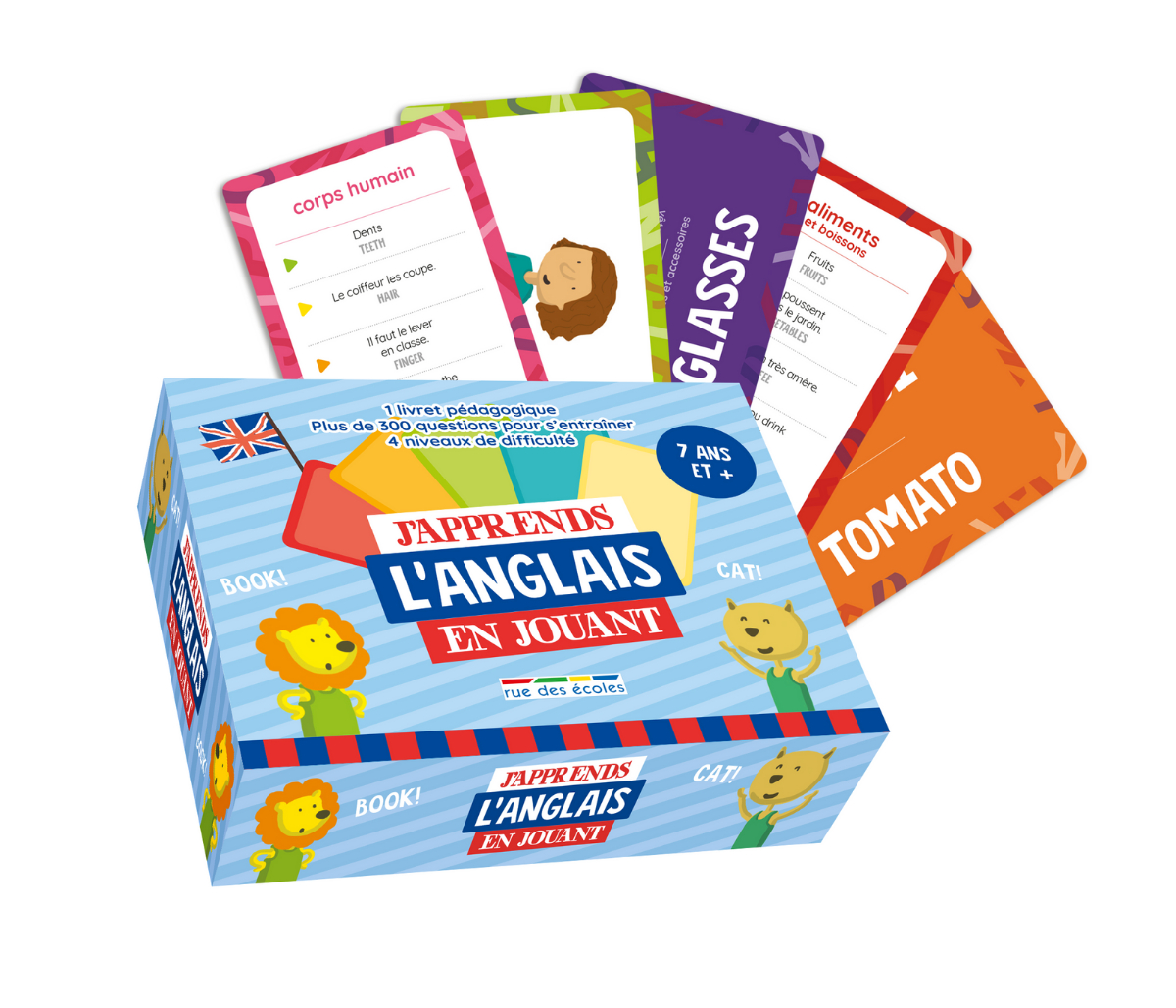 Comment Initier Les Enfants À L'anglais De Façon Ludique intérieur Jeux Educatif 7 Ans