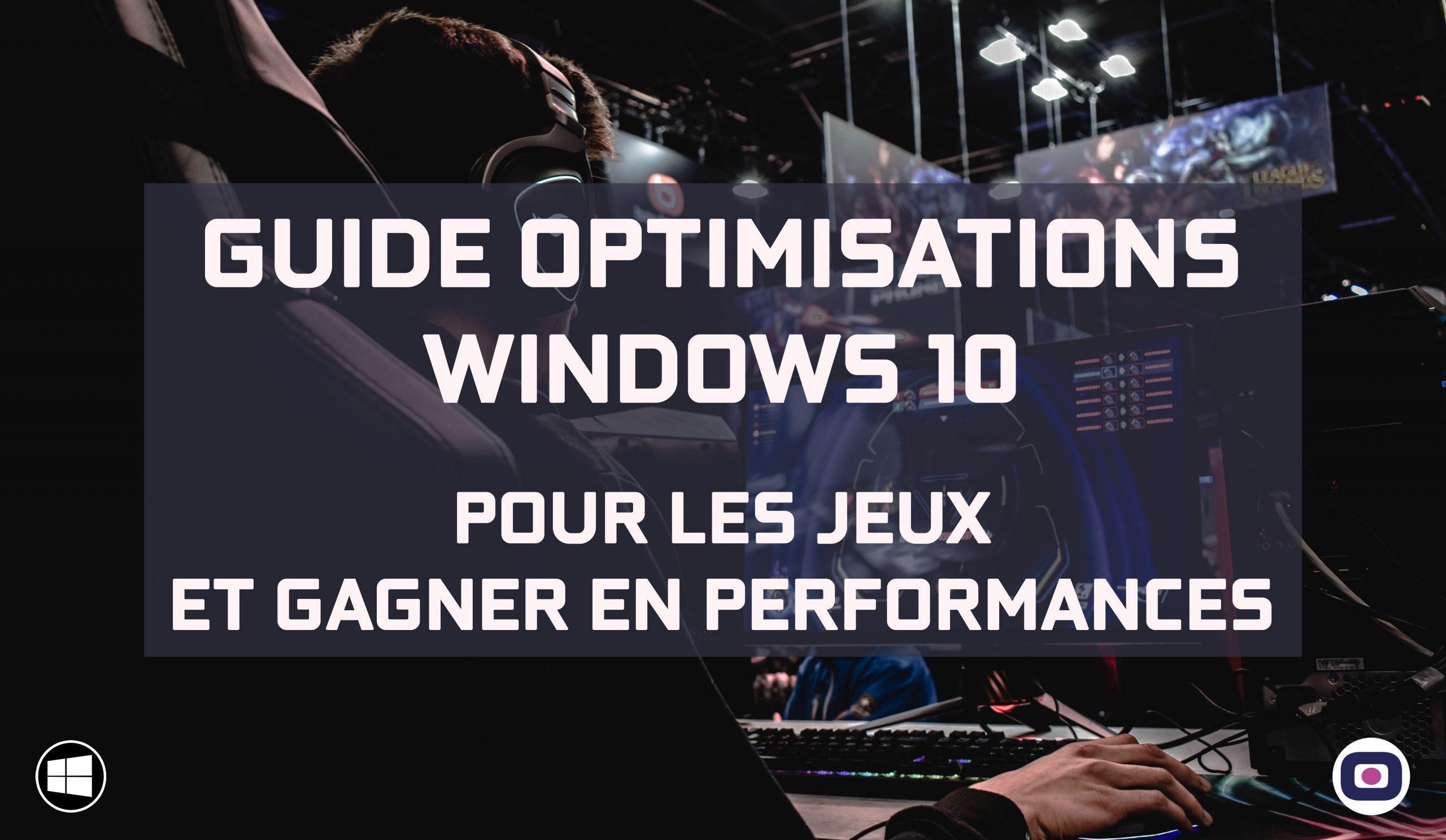 Comment Optimiser Windows 10 Pour Les Jeux Et Gagner En encequiconcerne Jeux Des Erreurs Gratuit