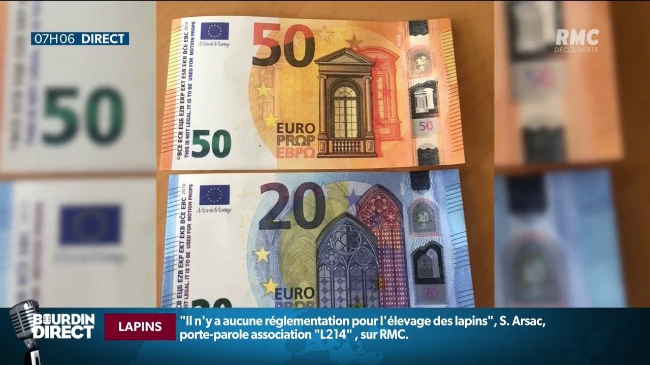 Comment Reconnaître Les Faux Billets Qui Circulent Actuellement En France? pour Billet Euro A Imprimer