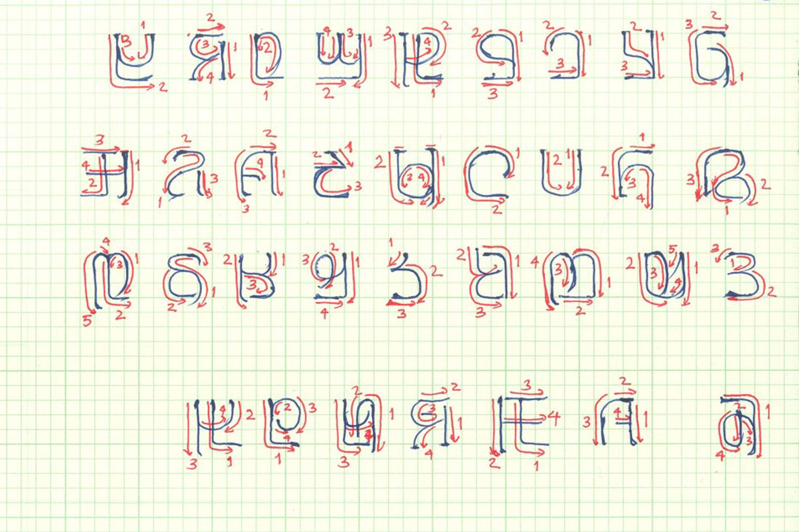 Comment Un Nouvel Alphabet Aide Un Peuple Ancestral À Écrire dedans Comment Écrire Les Lettres De L Alphabet Français