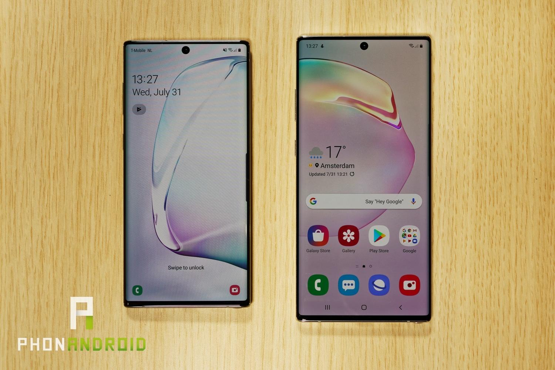 Comparatif Galaxy Note 10 Vs Galaxy Note 10+ : Quelles concernant Les 5 Differences