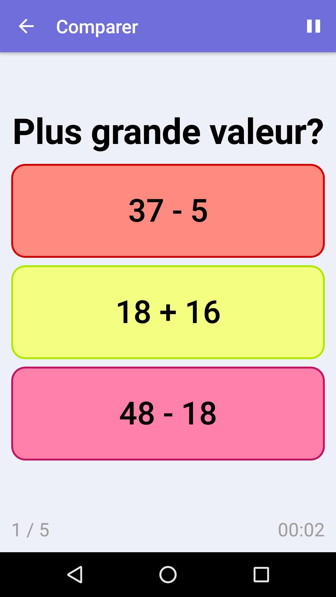 Comparer : Jeu De Math Gratuit Pour Iphone & Android serapportantà Jeux De Maths Gratuit