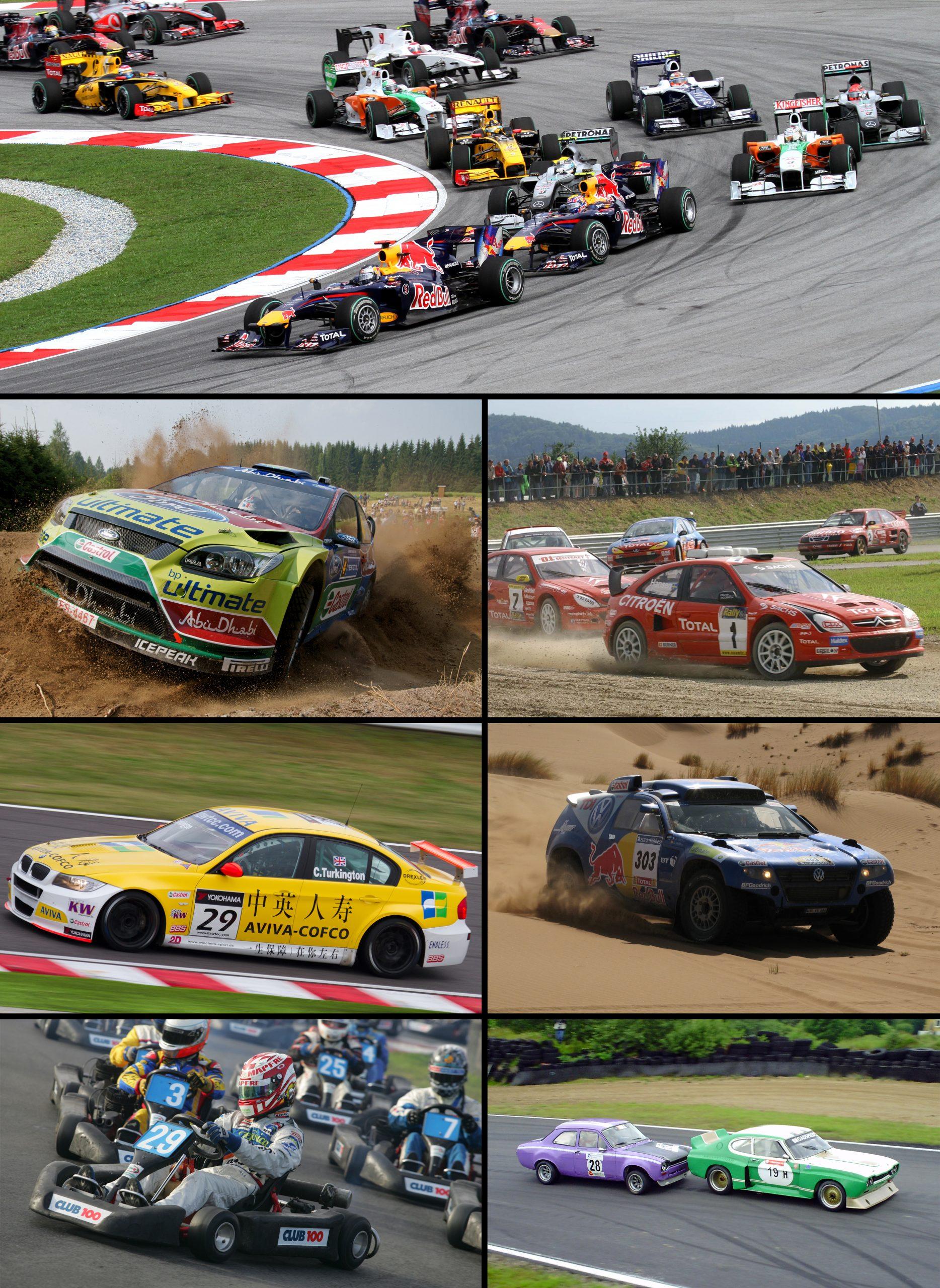 Compétition Automobile — Wikipédia à Jeux De Course En Voiture