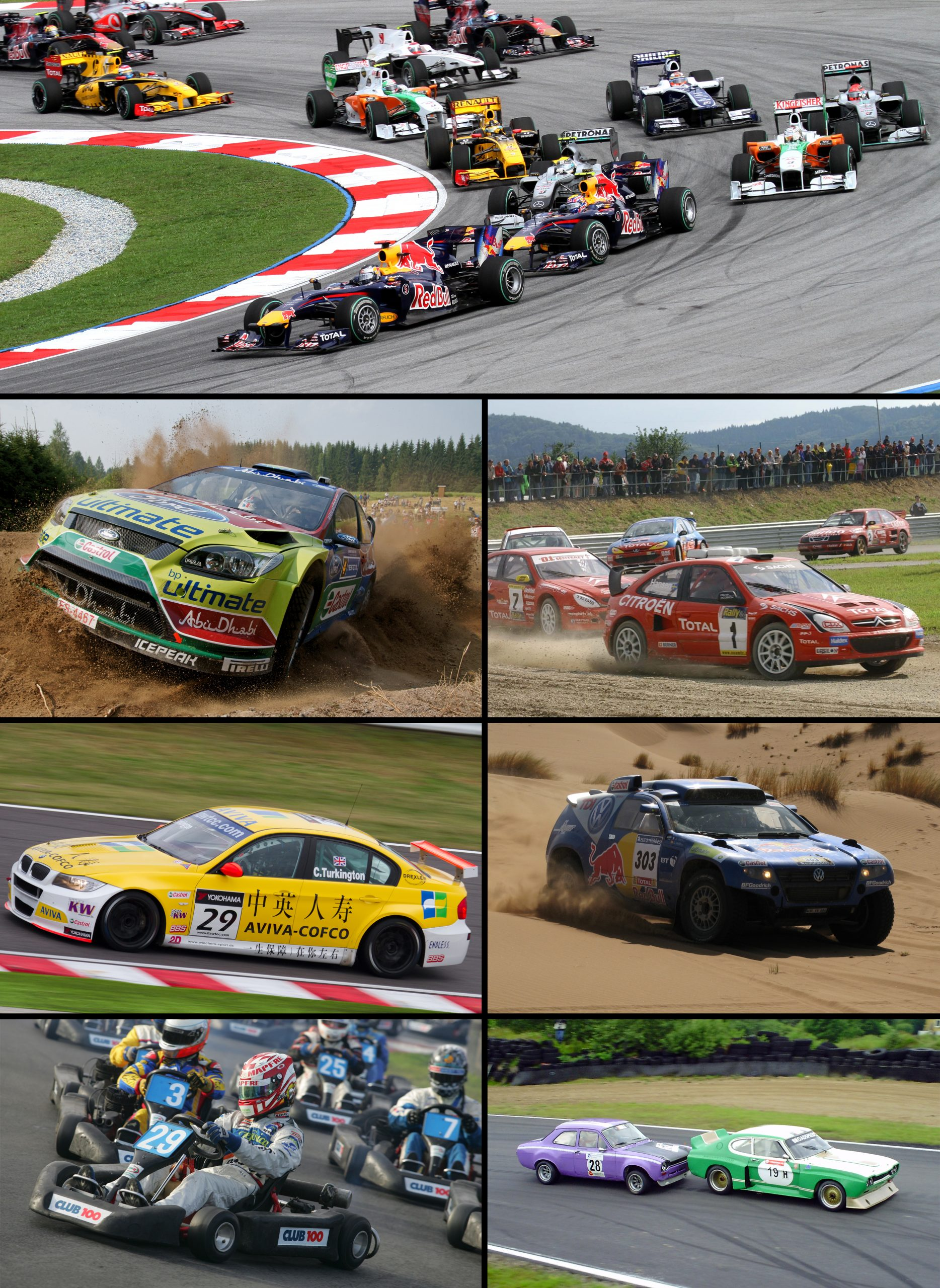 Compétition Automobile — Wikipédia tout Jeux De Parcours De Voiture