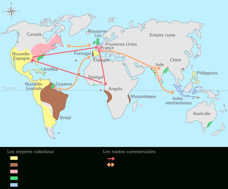 Compléter La Carte De L'europe Dans Le Monde Au Xviiie avec Carte Europe Vierge À Compléter En Ligne