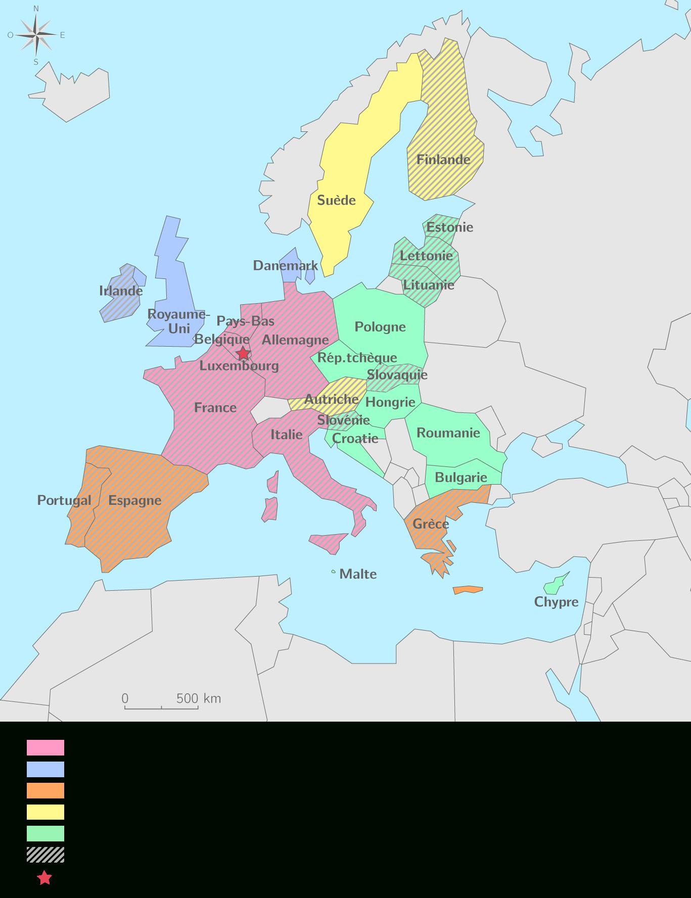 Compléter La Carte De L'union Européenne - 3E - Exercice encequiconcerne Carte De L Union Europeenne