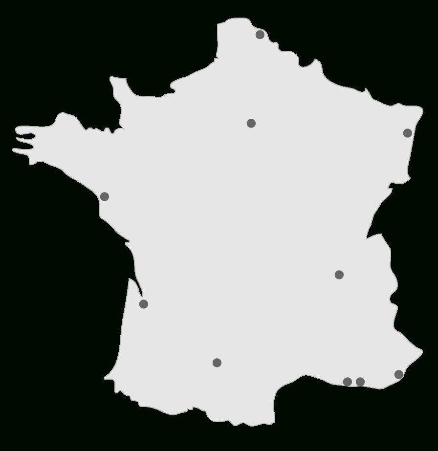 Compléter La Carte Des Dix Premières Aires Urbaines - 3E tout Carte De France A Remplir