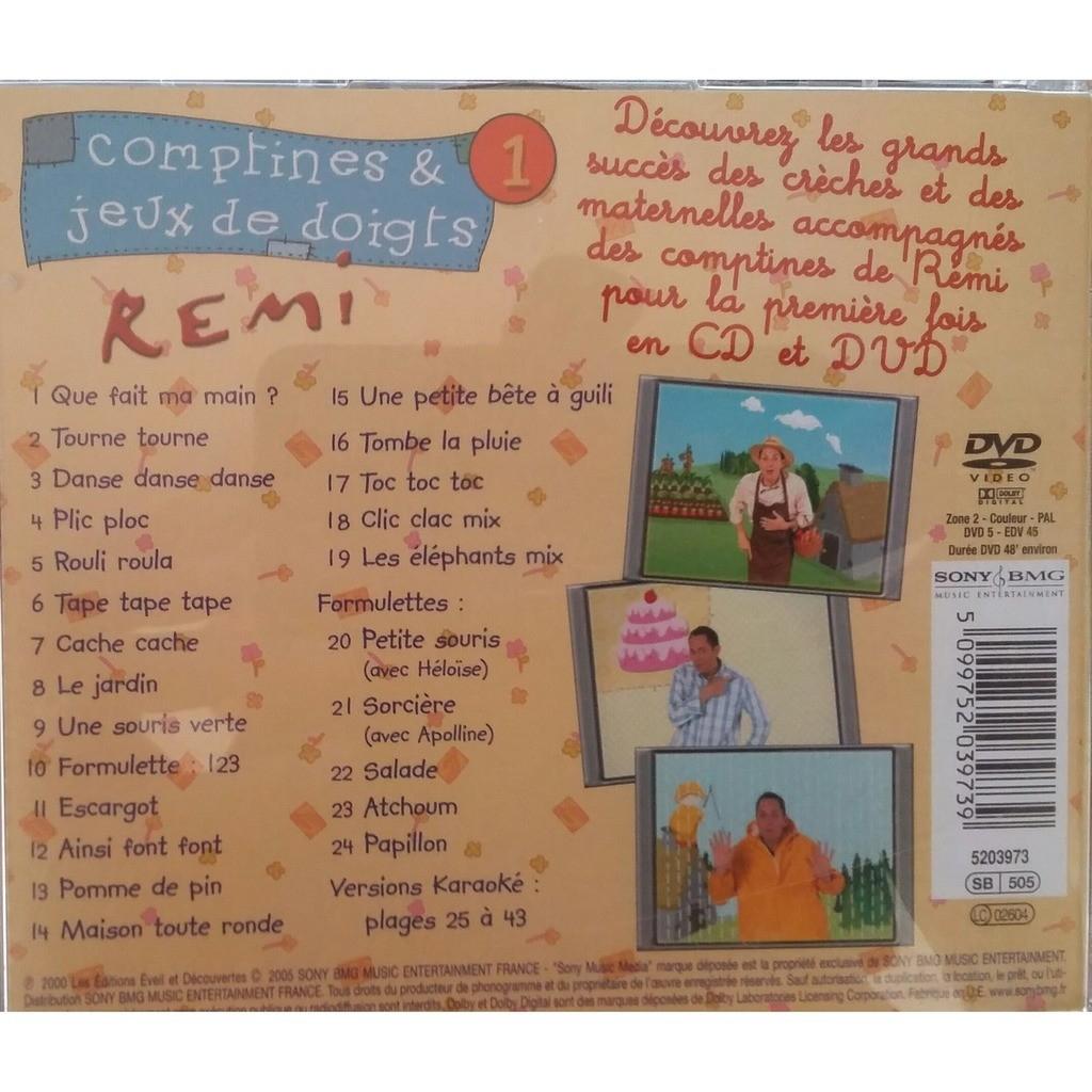 Comptines Et Jeux De Doigts 1 By Remi, Cd + Dvd With Cipaux76 intérieur Jeux De La Petite Souris