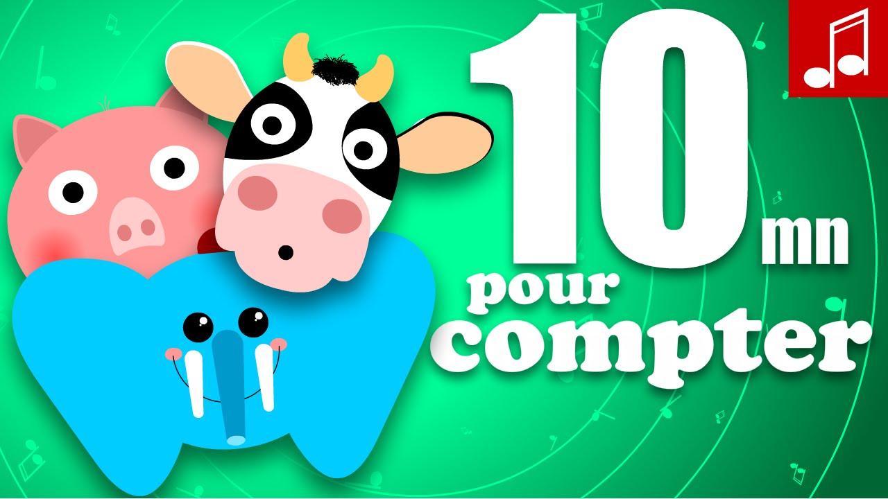 Comptines Pour Apprendre A Compter En Français Pour Bébé destiné Apprendre A Compter Maternelle