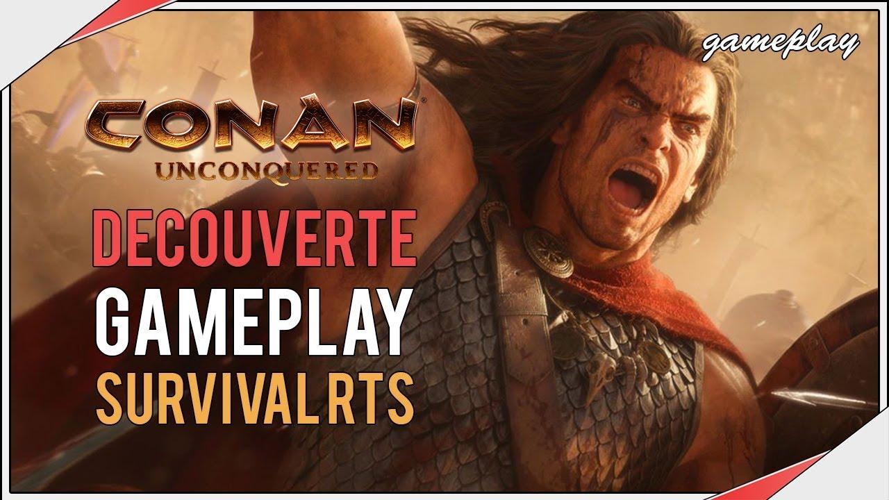 Conan Unconquered | Survival Rts Découverte Gameplay avec Jouer Jeux De Strategie En Ligne Gratuit