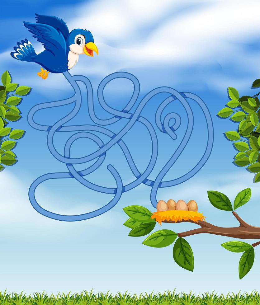 Concept De Puzzle Oiseau Bleu - Telecharger Vectoriel avec Puzzle Photo Gratuit