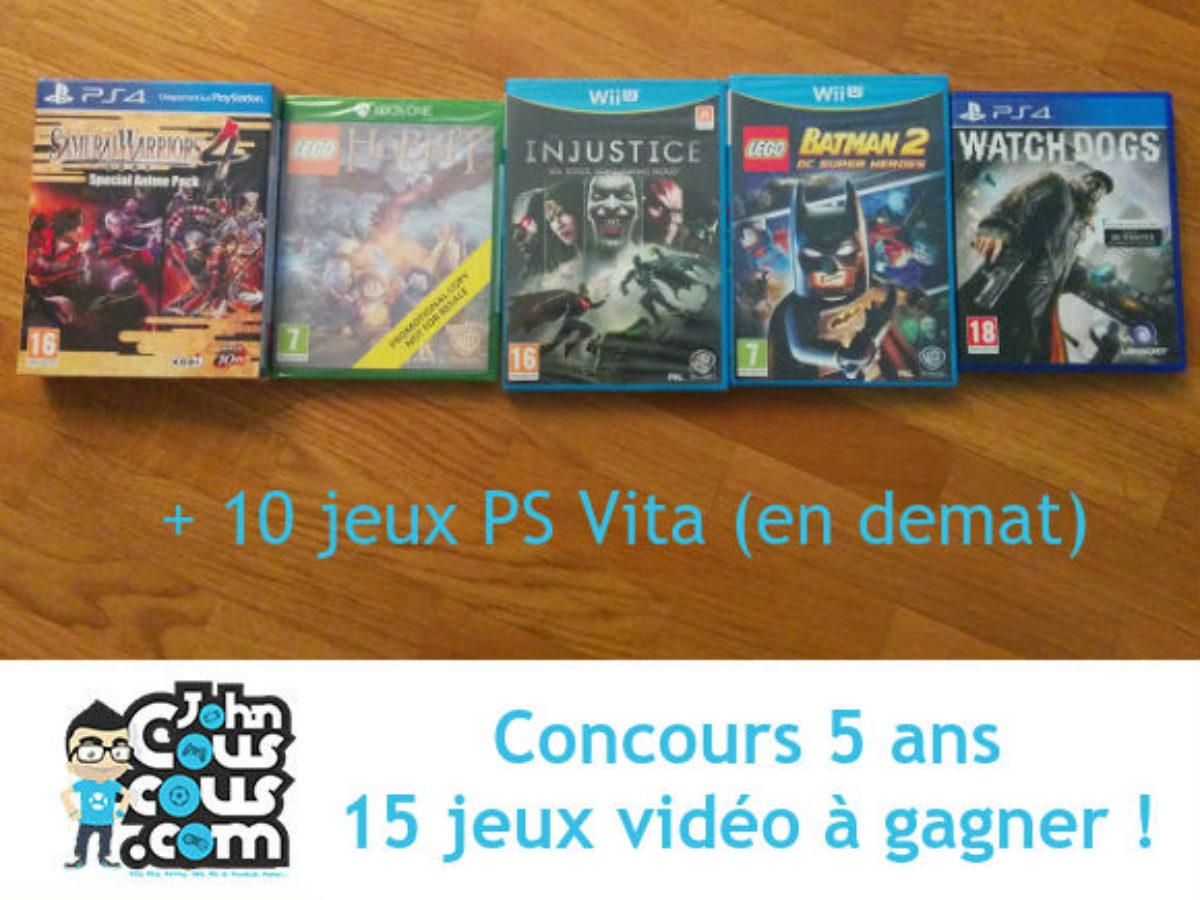 Concours] 5 Ans Du Blog – Part 3 - Johncouscous avec Jeux Video 5 Ans