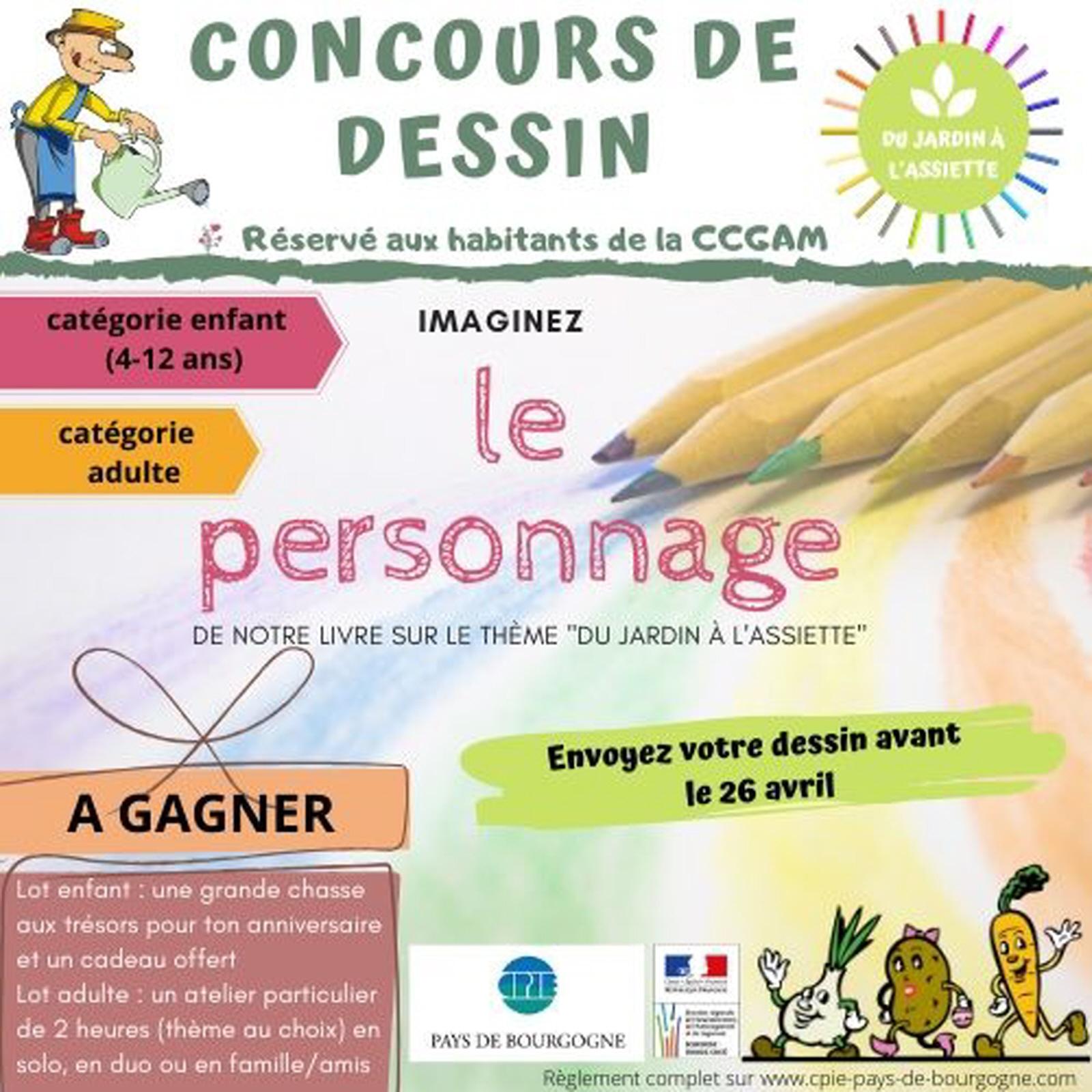 Concours De Dessin Ccgam : Jeu, Concours A Collonge La Madeleine pour Jeux Enfant Dessin