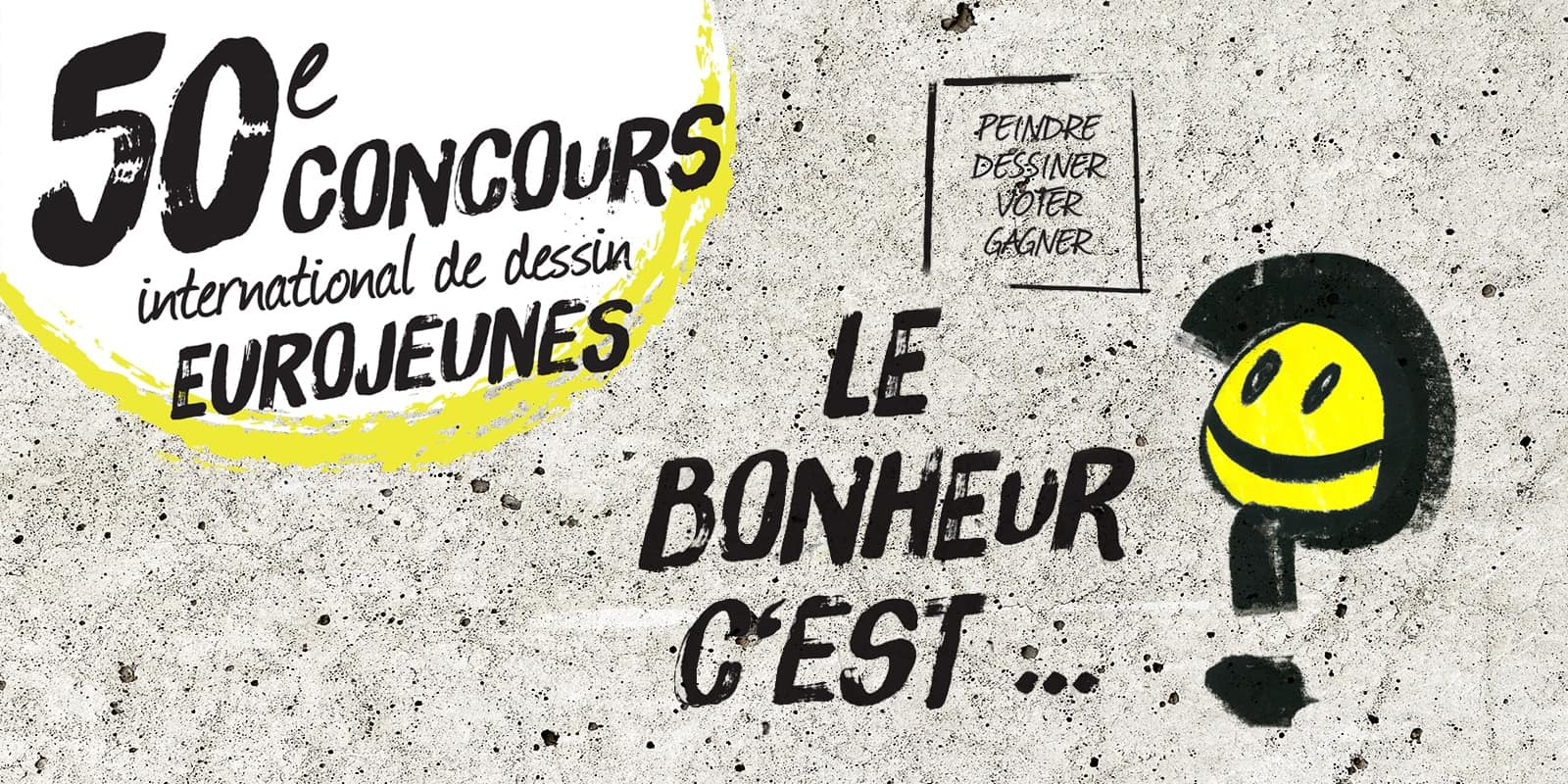 Concours International De Dessin Eurojeunes 2019 - Crédit dedans Dessin De Vague A Imprimer