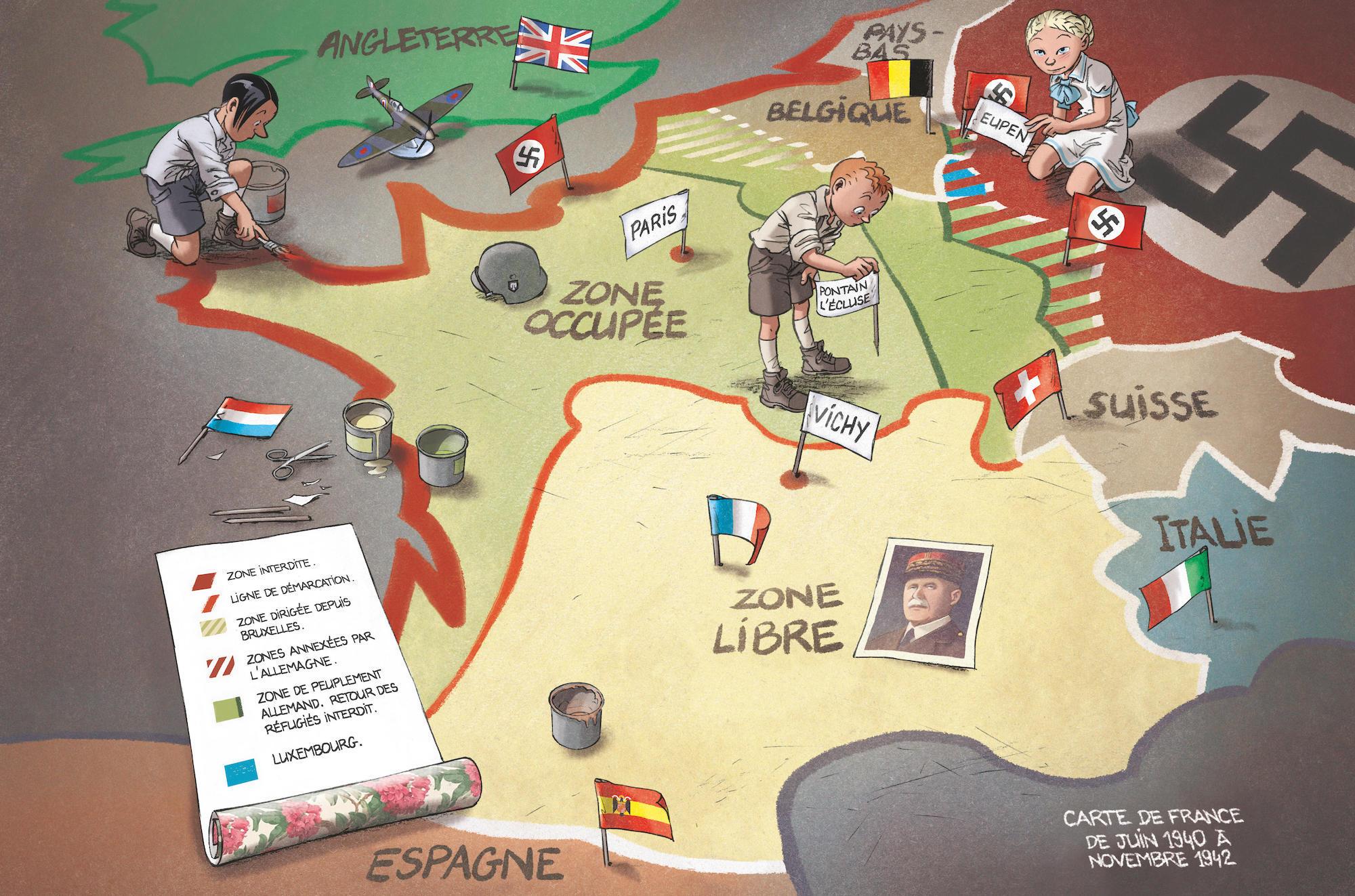 Concours - Remportez L'intégralité De La Série Les Enfants encequiconcerne Carte De France Pour Les Enfants