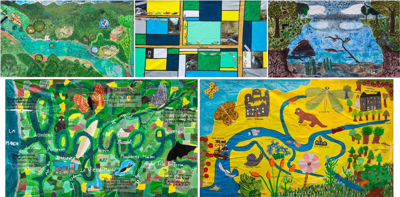 Concours Rivières D'images Et Fleuves De Mots Sur Les tout Fleuves Ce2