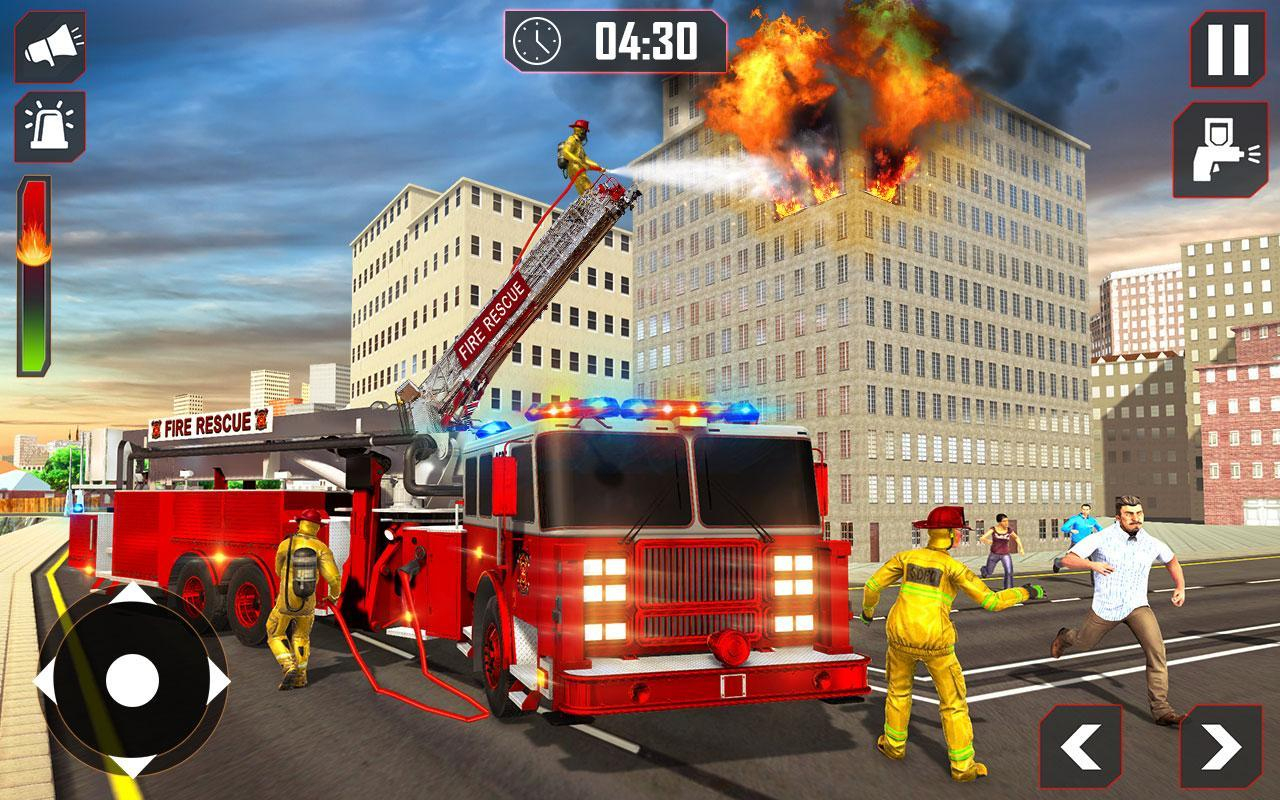 Conduire Camion Pompier 911 Pompiers Jeux Moteur Pour avec Jeux De Camion De Pompier Gratuit
