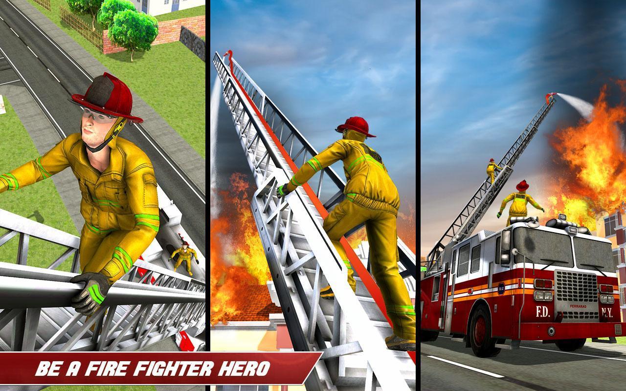Conduire Camion Pompier 911 Pompiers Jeux Moteur Pour serapportantà Jeux De Camion De Pompier Gratuit