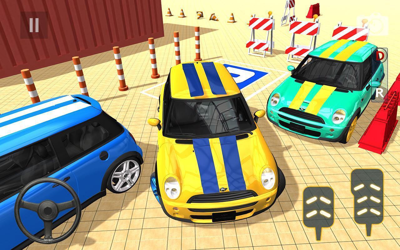 Conduite Moderne Parking 3D - Jeux De Voiture Pour Android à Mini Jeux De Voiture
