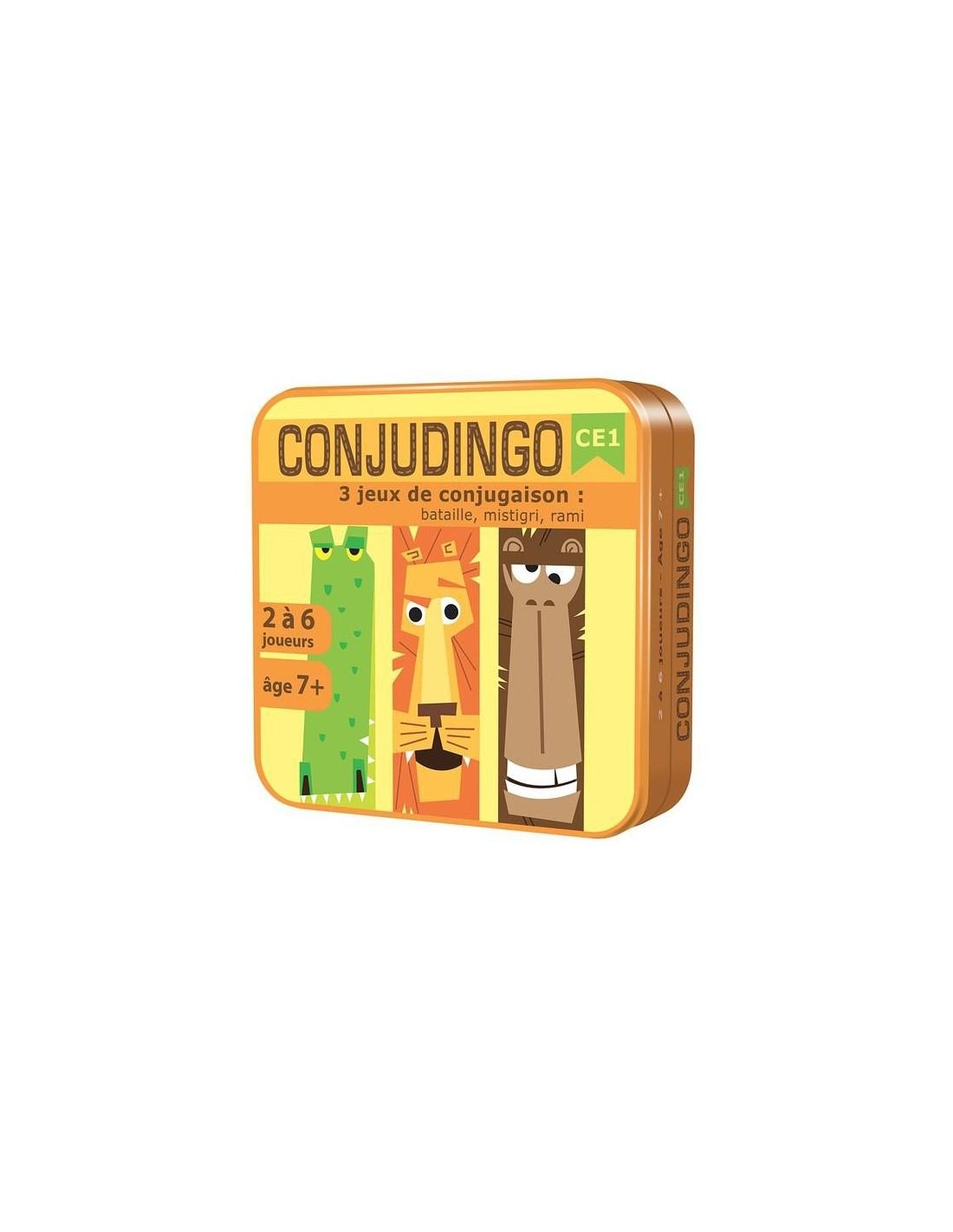 Conjudingo Ce1 - Jeu Éducatif De Conjugaison - Lapouleapois.fr tout Jeux Educatif Ce1