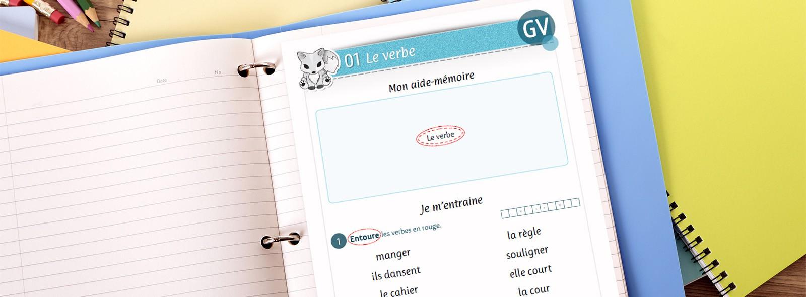 Conjugaison - Le Verbe (Ce1) - La Tanière De Kyban destiné Cours Ce1 Gratuit A Imprimer