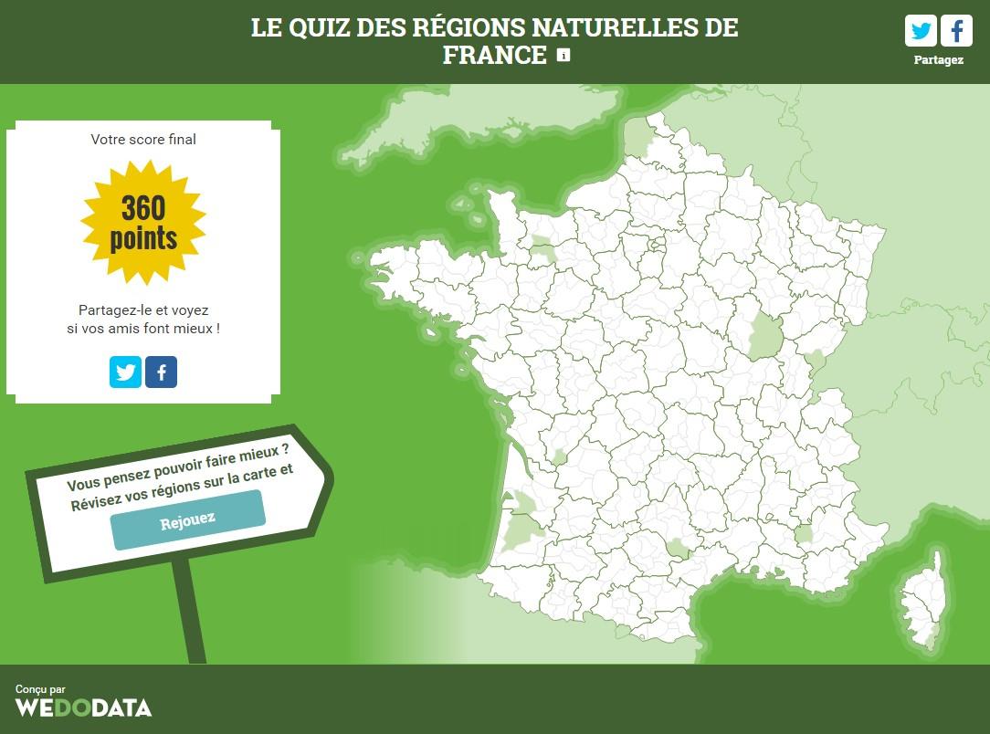 Connaissez-Vous Les Régions Naturelles De France? Le Quiz dedans Quiz Régions De France