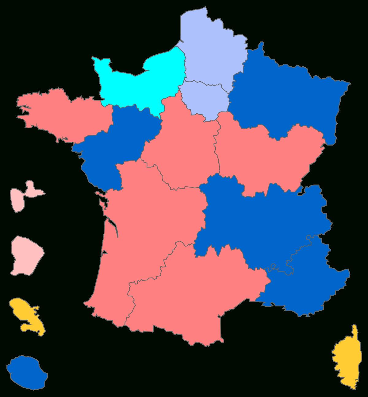 Conseil Régional (France) — Wikipédia intérieur Decoupage Region France