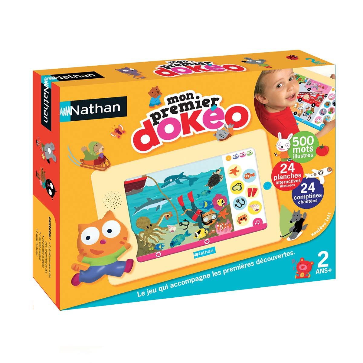 Console Mon Premier Dokéo pour Jeux Educatif Enfant 2 Ans