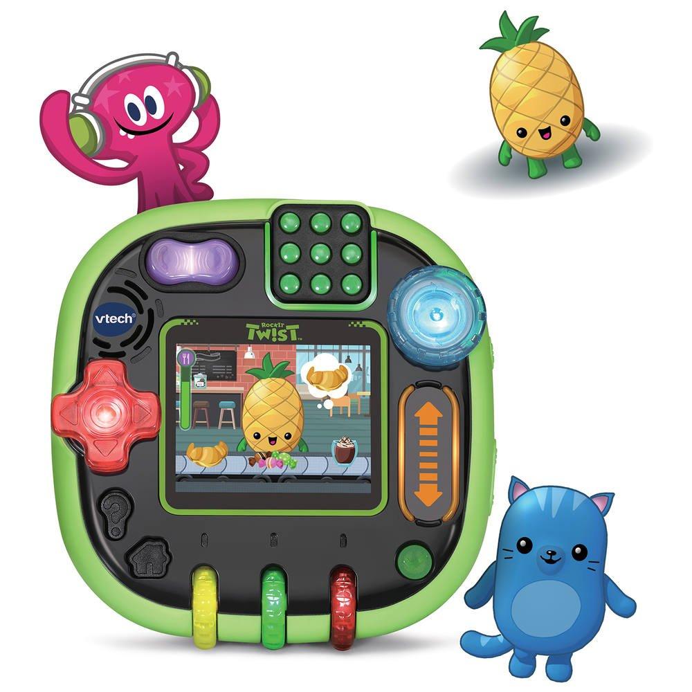 Console Twist - Vert Translucide | Jeux Educatifs | Jouéclub tout Telecharger Jeux Educatif Gratuit 4 Ans