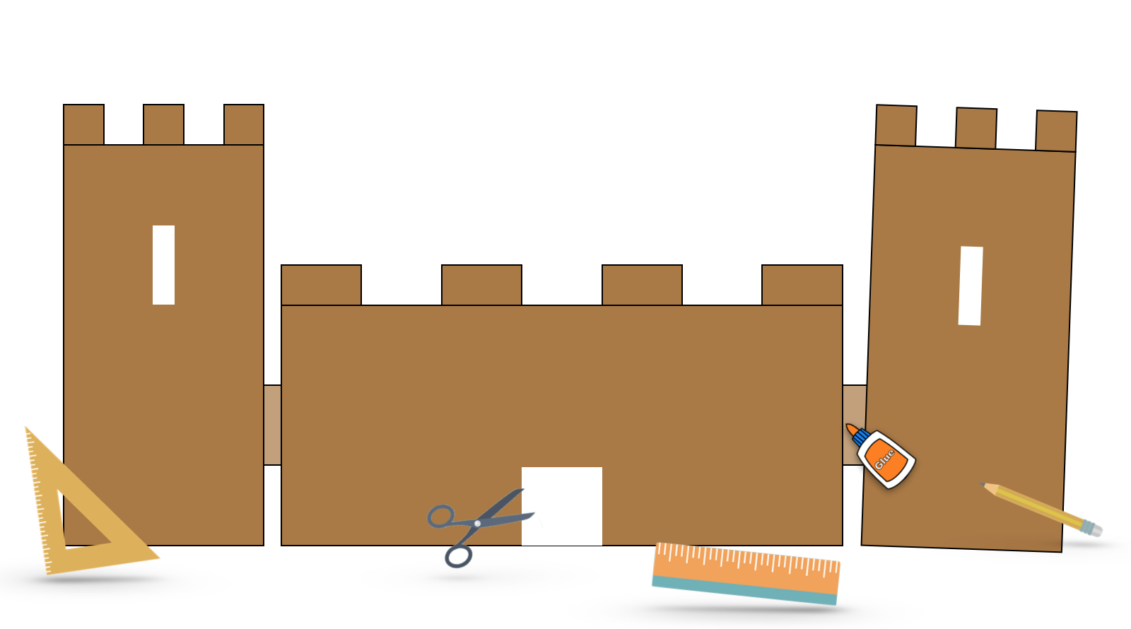 Construire Une Maquette De Château Fort – Le Blog Du Cancre concernant Image De Chateau Fort A Imprimer