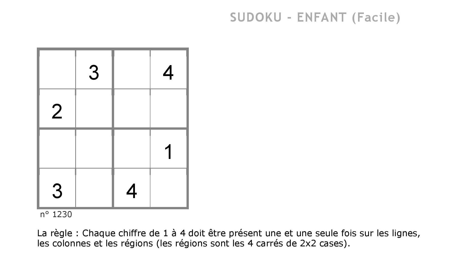 Contes Pour Enfants Sudoku 1 À Lire - Fr.hellokids à Sudoku Pour Enfant