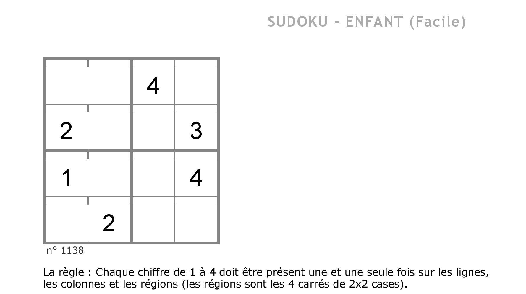 Contes Pour Enfants Sudoku 2 À Lire - Fr.hellokids serapportantà Sudoku Pour Enfant