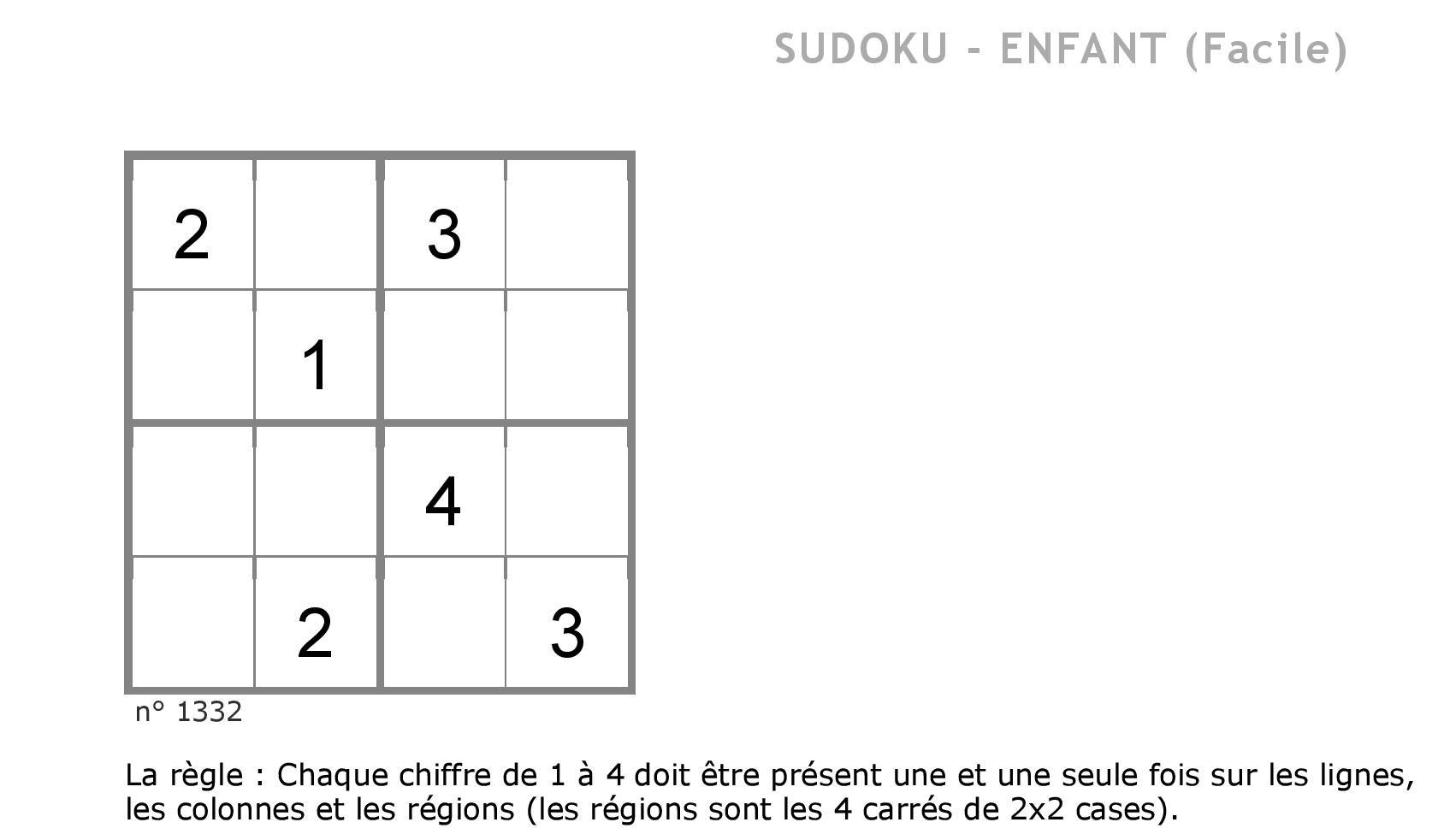 Contes Pour Enfants Sudoku 5 À Lire - Fr.hellokids encequiconcerne Sudoku Pour Enfant