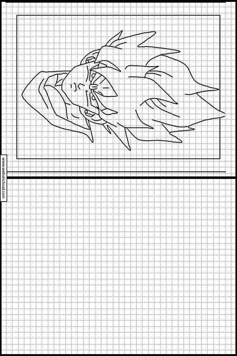 Copie Dessins Sur Quadrillage Dragon Ball Z 33 encequiconcerne Dessin Sur Quadrillage