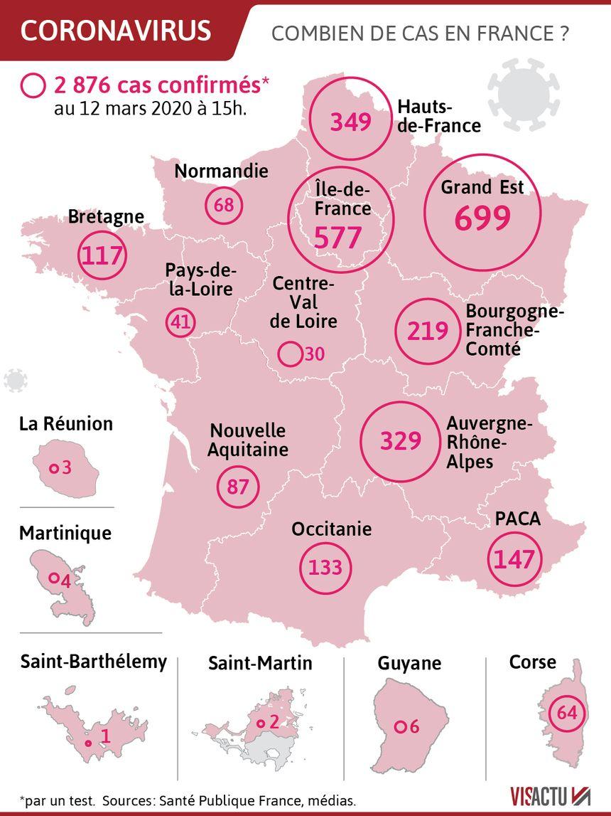 Coronavirus : Le Point Sur La Situation Ce Vendredi encequiconcerne Combien De Departement En France