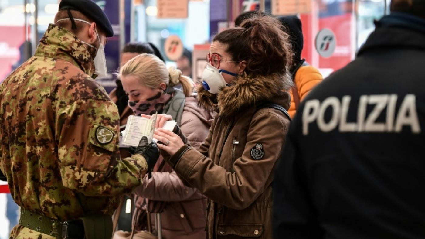 """Coronavirus: L'italie Confinée """"a Casa"""", L'oms Parle De à Prohibé Mots Fléchés"""