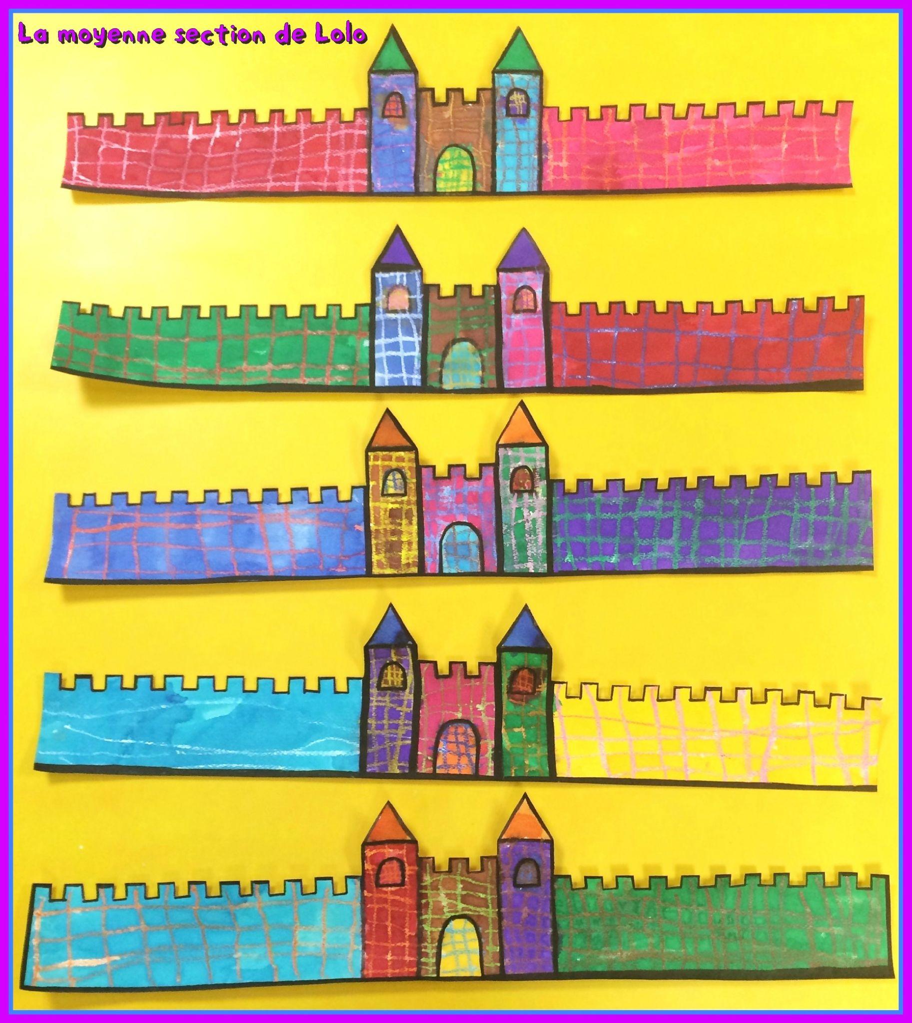 Couronne Château Fort - La Moyenne Section De Lolo encequiconcerne Image De Chateau Fort A Imprimer