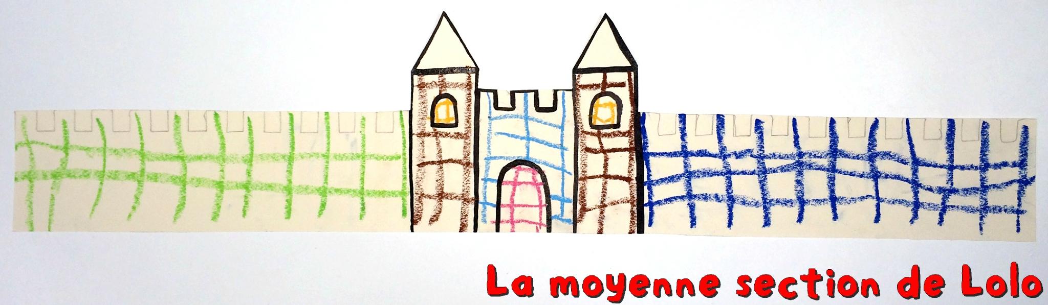 Couronne Château Fort - La Moyenne Section De Lolo serapportantà Image De Chateau Fort A Imprimer
