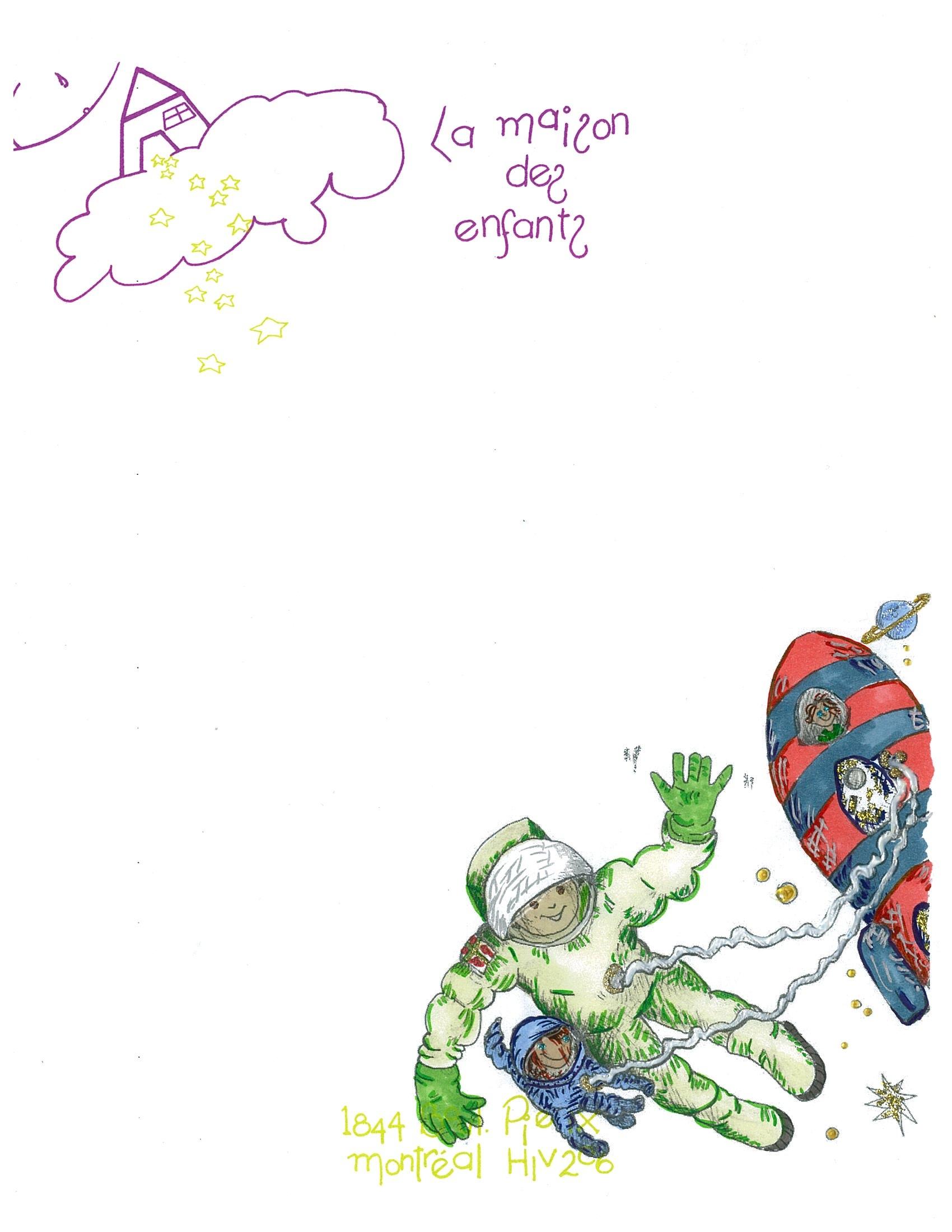 Courrier Des Enfants | La Maison Des Enfants tout Papier A Lettre Enfant