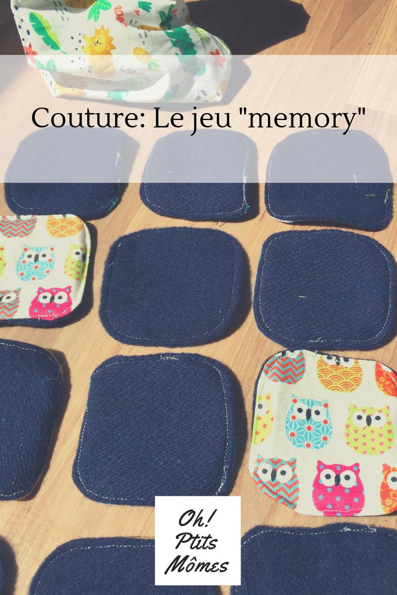 Couture: Jeux Memory Avec Des Chutes De Tissus - Oh!ptits Mômes serapportantà Jeu Memory Enfant
